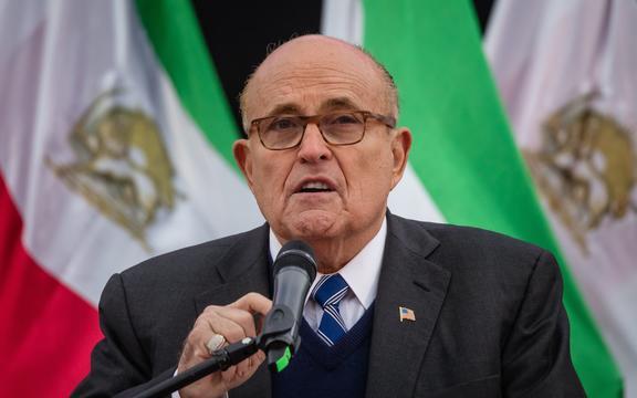 Rudy Giuliani one of Donald Trump's lawyers