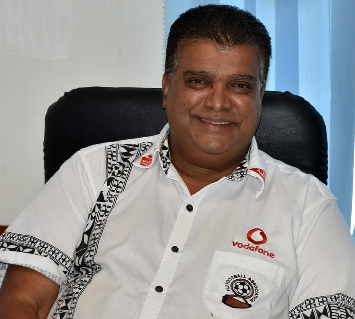 Fiji Football Association CEO Mohammed Yusuf.