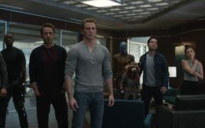 Marvel's greatest heroes gather in a scene from Avengers Endgame.