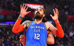 Steven Adams NBA season is over.