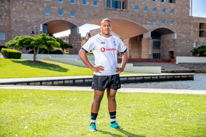Fiji Under 20s rugby captain Tevita Ikanivere.