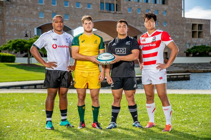 Fiji, Australia, New Zealand and Japan will contest the Oceania Rugby Under 20s Championship.