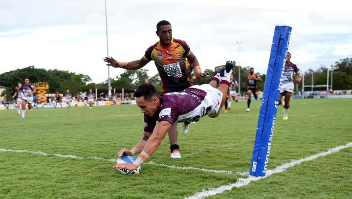 The PNG Hunters conceded 10 tries against last season's Intrust Super Cup runners-up.