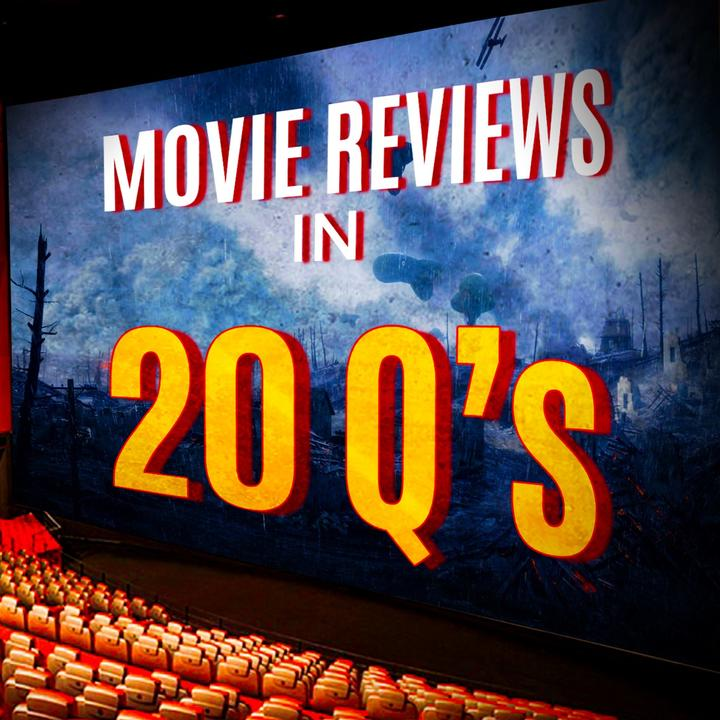 Movie Reviews in 20Qs logo (Supplied)