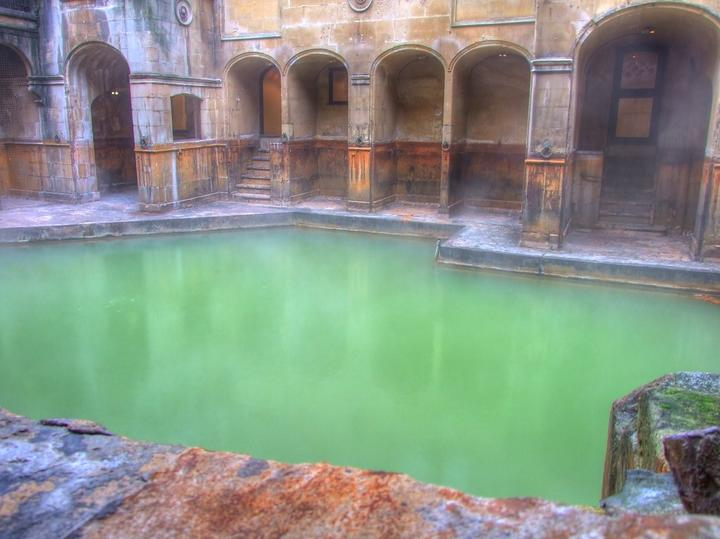 Hot Spring at Bath