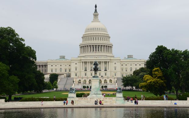 The US Capitol Building in Washington DC.