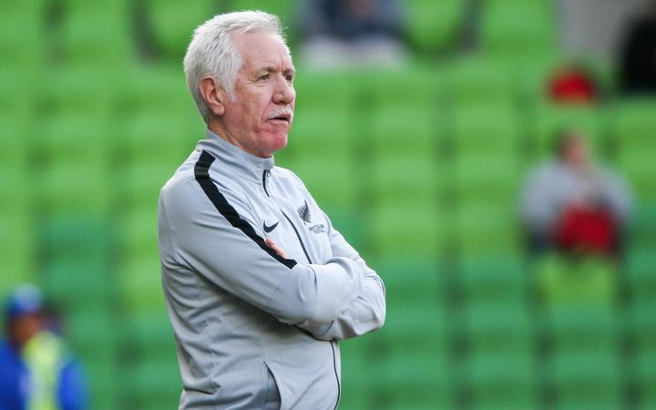 Football Ferns coach Tom Sermanni
