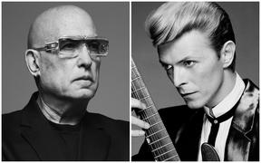 Mike Garson and David Bowie