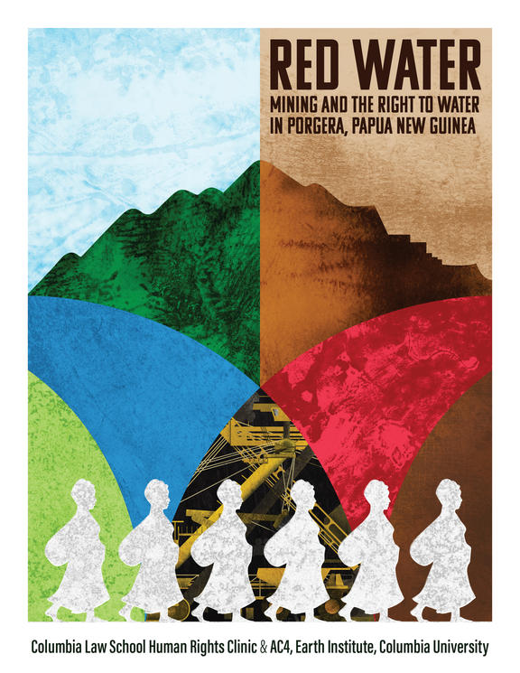 PNG communities are exposed to concerning levels of chemicals linked to mine operations, according to a new report 'Red Water: Mining and the Right to Water in Porgera'.