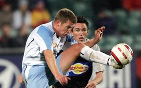 Ufuk Talay playing for Sydney in 2005.
