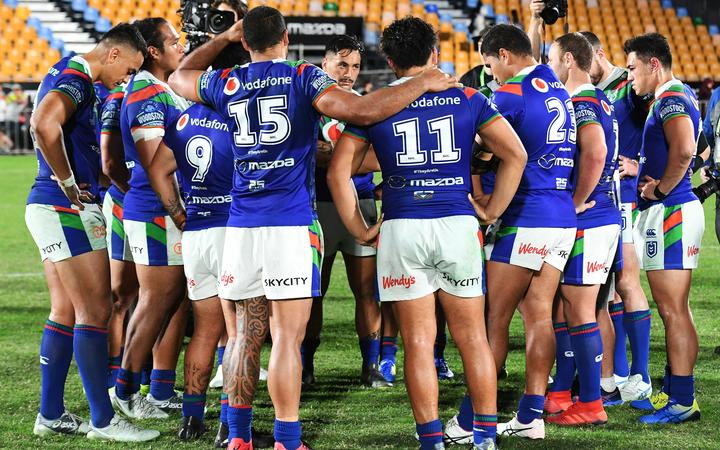 The Warriors reflect on their loss to Newcastle at Mt Smart Stadium.