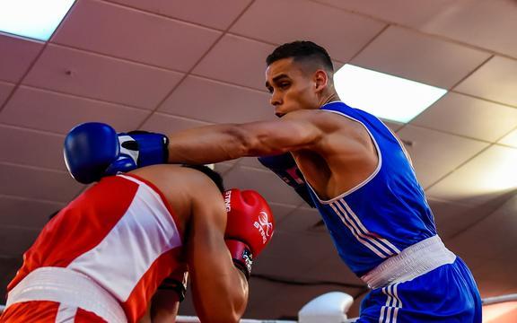 New Zealand boxer David Nyika.