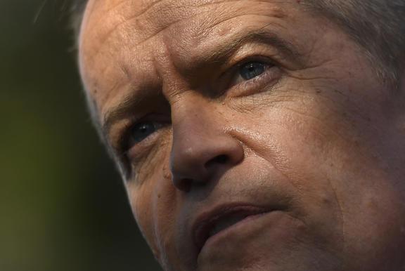Australia's opposition Labor leader Bill Shorten.