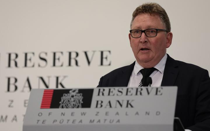 Reserve Bank governor Adrian Orr.