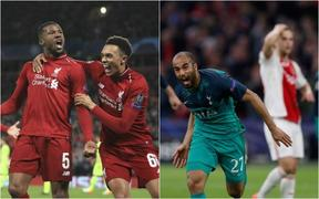 Liverpool-Spurs Champions League. 9.5.19