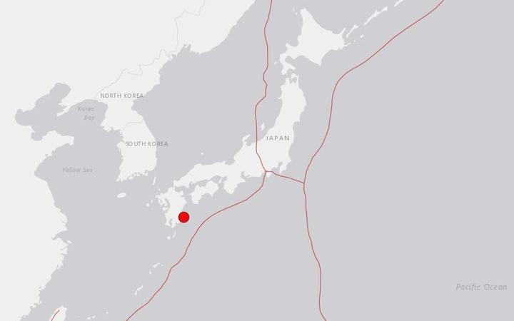 Magnitude 6.3 quake  hits near Japanese city