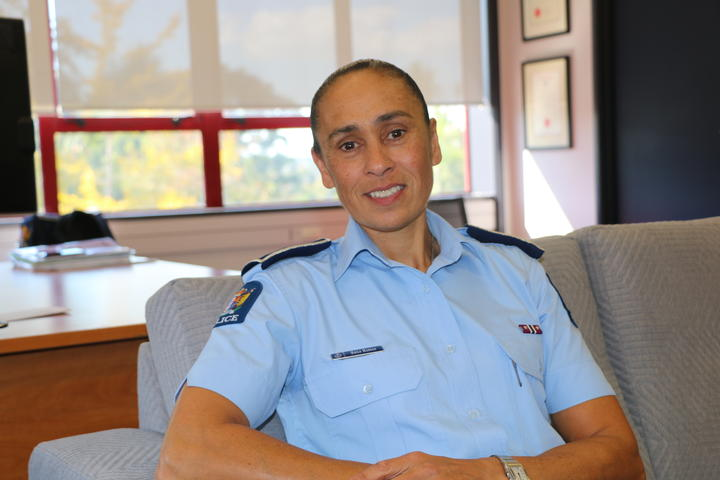 NZ Police District Commander Waitemata Auckland's Naila Hassan.