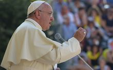 Pope Francis has begged forgiveness from victims who were sexually abused by Catholic priests.