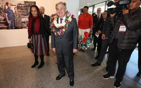 UN Secretary-General, Antonio Gutterres, attends a Pasifika community event in Auckland