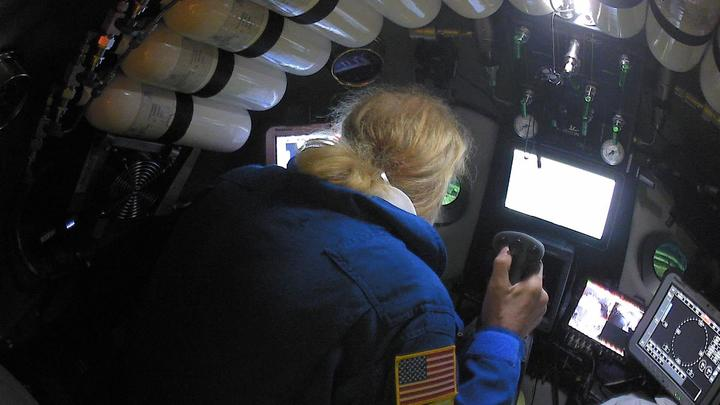 In deepest-ever submarine dive, explorer finds trash on ocean floor
