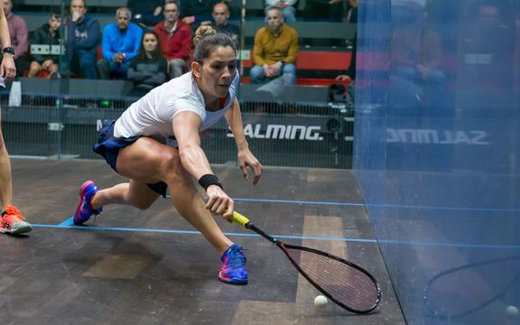New Zealand squash player Joelle King.