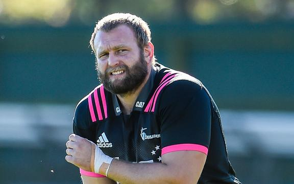 Crusaders prop Joe Moody
