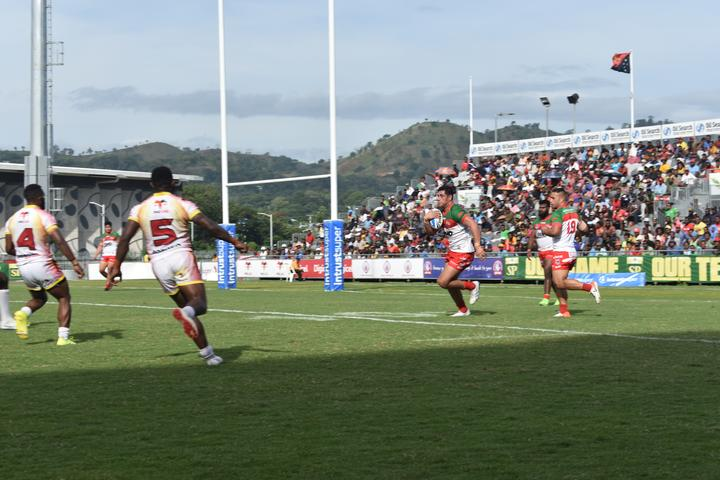 Wynnum Manly secured their first ever win in Port Moresby.