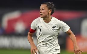 Football Ferns defending midfielder Ali Riley.