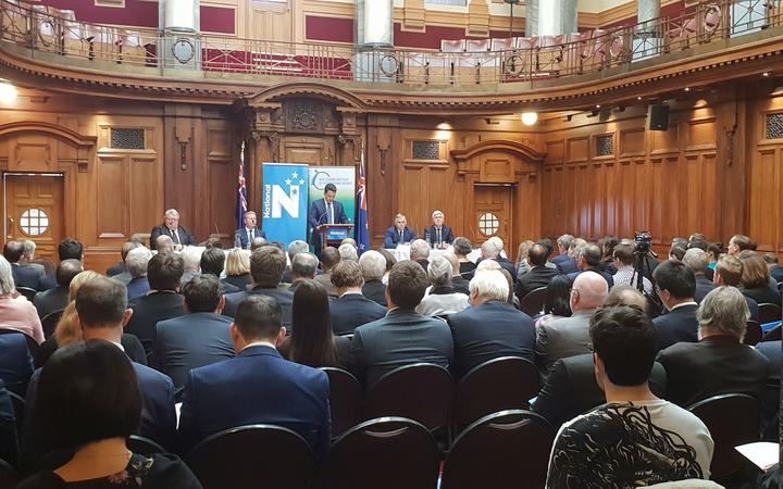 National Party leader Simon Bridges lays out the party's foreign policy vision.