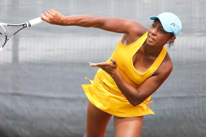 PNG tennis player Abigail Tere-Apisah.