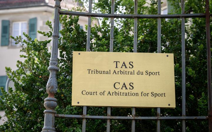 The Court of Arbitration for Sport in Switzerland