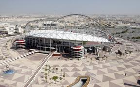 The Khalifa International Stadium in Doha.
