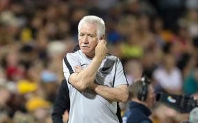 New Zealand Football Ferns Coach, Tom Sermanni.