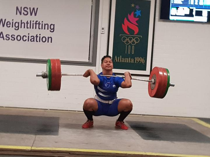 Eileen Cikamatana competing for New South Wales at an interstate event in Sydney.