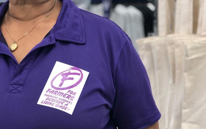 Farmers staff walk off the job over living wage demands