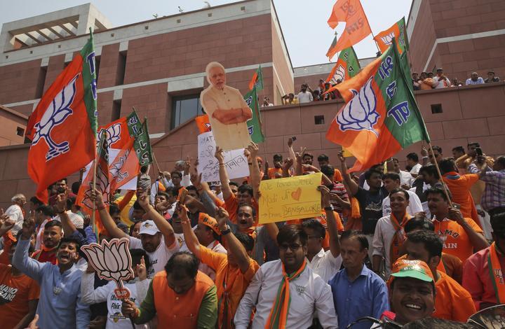 India election results 2019: Narendra Modi secures landslide win
