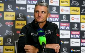 Panthers coach Ivan Cleary.