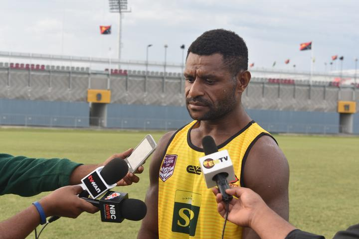 PNG Hunters newcomer Terry Wapi.