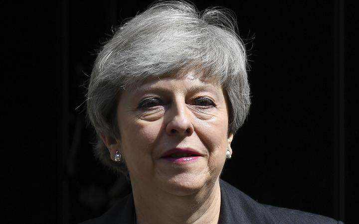 British Prime Minister Theresa May.