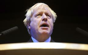 British Conservative Party Member of Parliament Boris Johnson