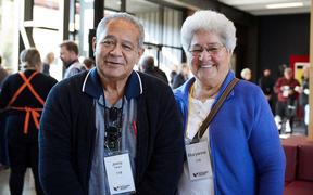 Vietnam veteran Jimmy Tainui, and his wife Maryanne