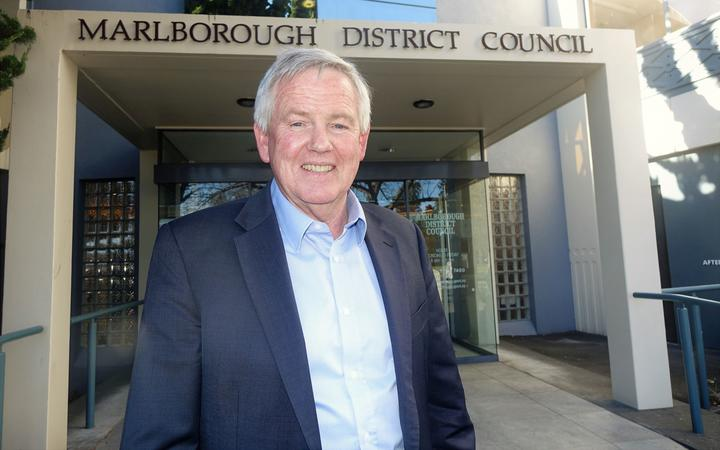 Marlborough mayor John Leggett
