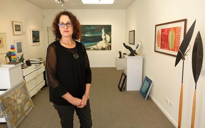 Barbara Speed, director of Diversions Gallery in Picton