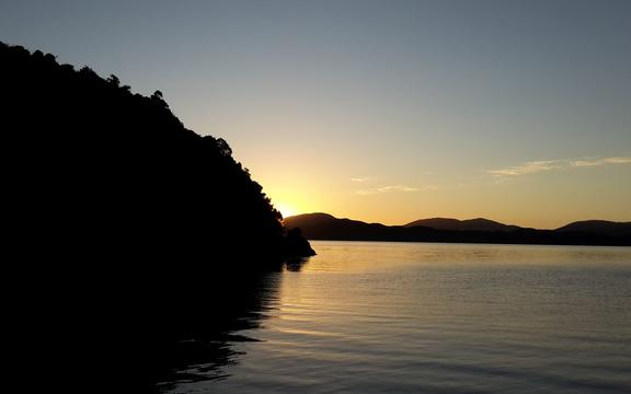 Meretoto or Ship Cove - in the Queen Charlotte Sound of the Marlborough Sounds.