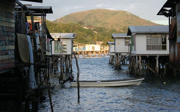 One of the villages of Motu KoItabu, Port Moresby, Papua New Guinea