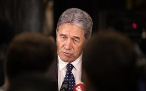 Deputy Prime Minister Winston Peters.