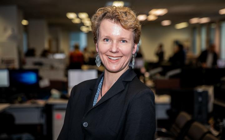 ANZ chief economist Sharon Zollner. Photo:RNZ / DOM THOMAS