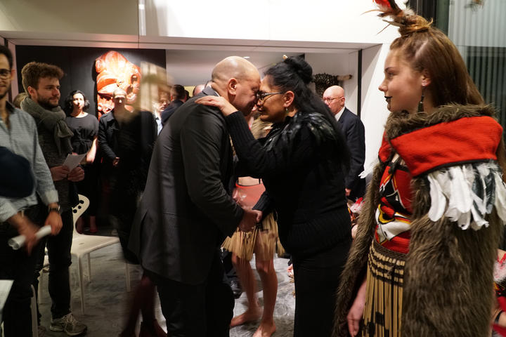 A traditional Maori welcome at Michael Hill International Violin Competition