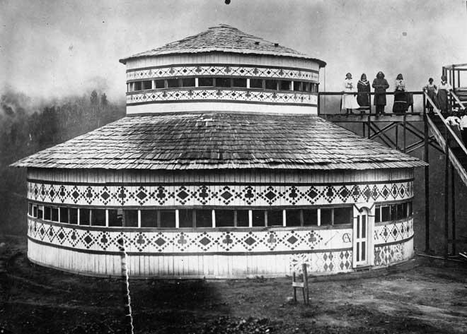 Rua Kenana's temple shortly after it opened in 1907