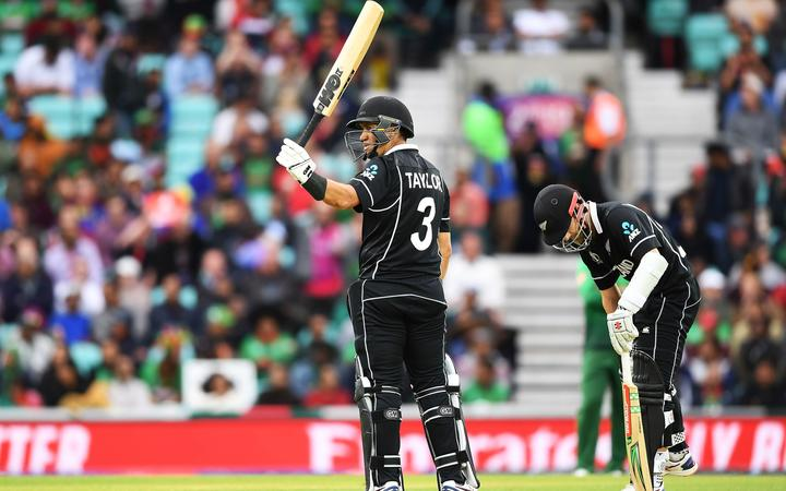Black Caps cricket batsman Ross Taylor 50 not out.